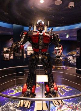 机器模型展览馆